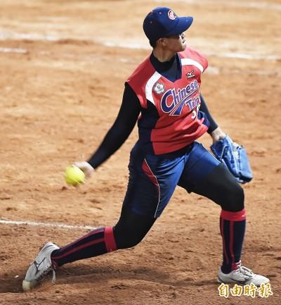 壘球》連兩戰扣倒對手 東奧資格賽台灣分組第2晉級