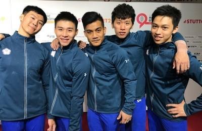 體操世錦賽》狂賀!台灣男子體操隊確定拿到4張奧運門票