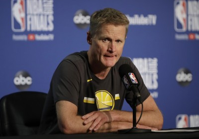 NBA》莫雷挺港風波延燒 勇士教練這樣說