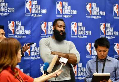 NBA》哈登改挺言論自由 強國人玻璃心碎狂譙:滾出中國