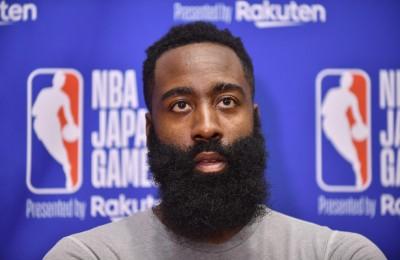 NBA》曾向中國球迷道歉 哈登改口力挺言論自由