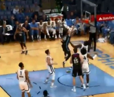 NBA》超狂彈跳力!紐西蘭球員「顏扣」灰熊211公分中鋒(影音)