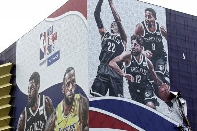 NBA》賽前活動雖全喊卡 籃網與湖人熱身賽今晚照常舉行