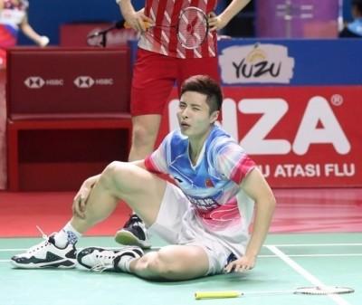 羽球》腳傷根本沒好  中國一哥遭爆再退丹麥、法國賽