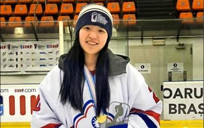 冰球》台灣第一人! 徐子庭加盟NWHL職業球隊