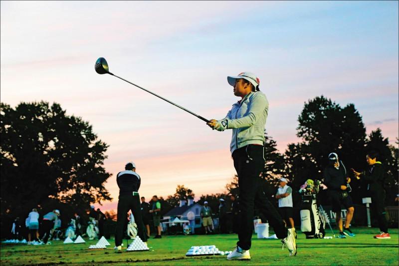 上海別克LPGA錦標賽》首回合「超標」 徐薇淩力爭上游