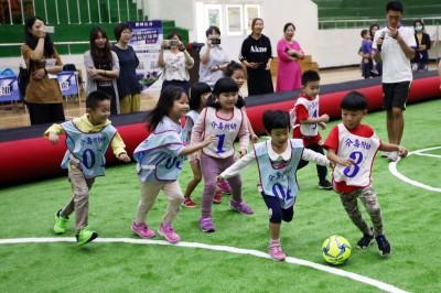 飄洋過海來馬祖 幼兒足球全島啟動幼苗培育計畫