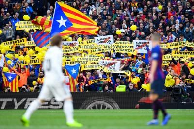 足球》抗議持續升溫! 西班牙國家德比將延期