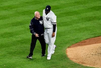 MLB》沙巴西亞受傷退場 洋基生涯最終戰寫下心痛結局 (影音)