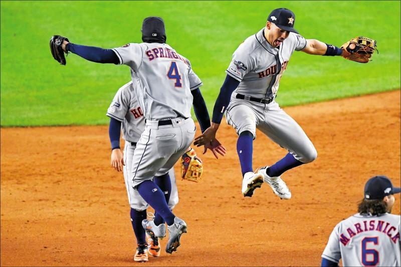 MLB》神之子也擋不住 太空人3勝聽牌