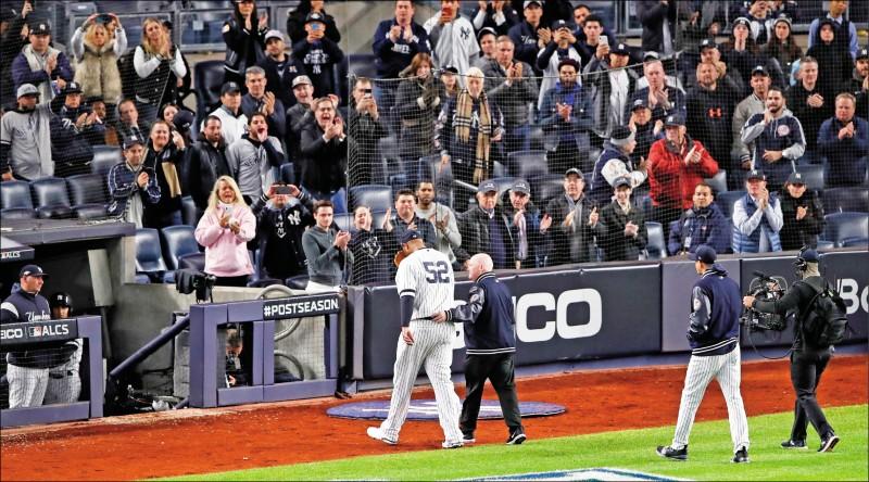 MLB》沙巴西亞傷退 大聯盟生涯恐告終
