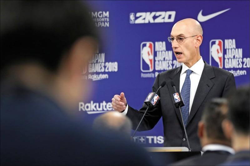 NBA》挺港風波 席爾瓦重申不會懲罰莫雷