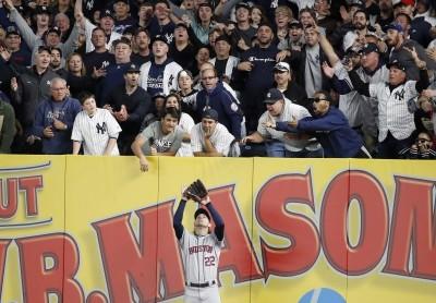 MLB》感受洋基迷的「恐怖」 太空人終結者有怨言