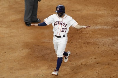 MLB》艾圖維再見轟棒打查普曼 太空人挺進世界大賽
