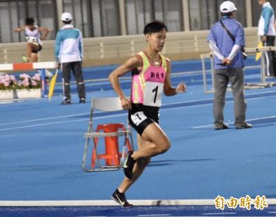 全運會》陳昭郡迎接更好的自己 締造女子3000障礙全國紀錄完成2連霸