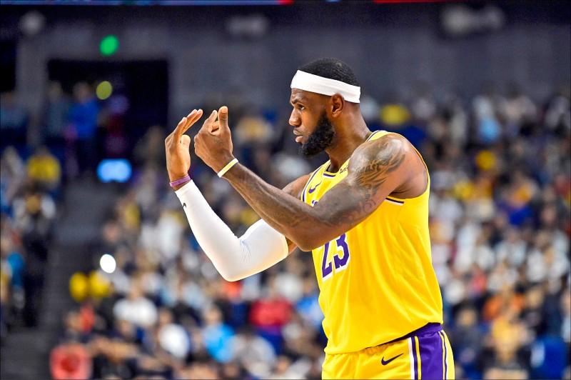 NBA明點燃戰火 洛城大戰料開「湖」