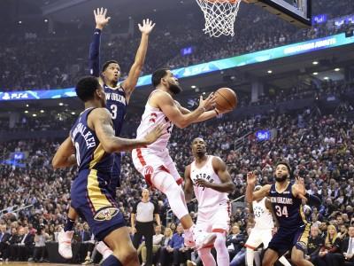 NBA》暴龍雙衛延長賽發威 開幕戰苦勝青年軍鵜鶘