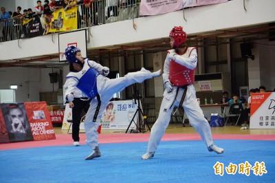 全運會》克服15公分差距 黃懷萱退役前最後一搏