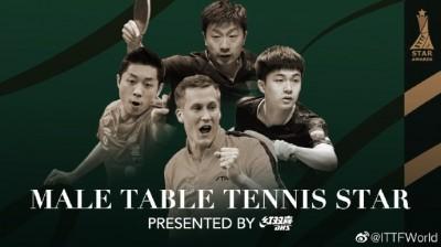 桌球》台灣第一人 林昀儒入圍國際桌總年度最佳男運動員