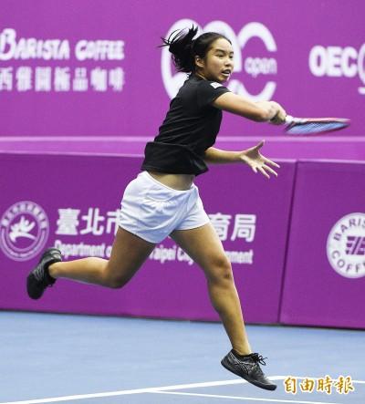 網球》15歲楊亞依力戰惜敗 地主新星無緣海碩盃8強