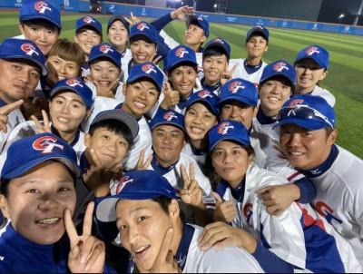 女棒亞錦賽》台灣隊複賽15:0扣倒中國 明與日本爭冠