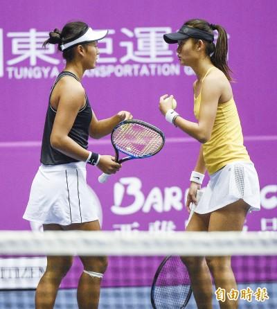 網球》卓家姊妹挺進海碩盃4強 締造生涯最佳戰績