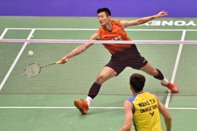 香港賽》石宇奇、林丹接連出局 中國男單剩諶龍艱辛晉級8強