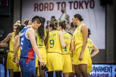 女籃》台灣隊奧運預選賽首戰命中率25% 遭澳洲痛宰33分