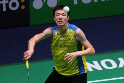 香港賽》王子維苦戰79分鐘遭奧運金牌諶龍逆轉 無緣男單8強