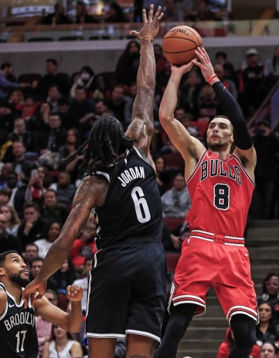 NBA》拉文狂飆36分無用  公牛遭籃網擊退