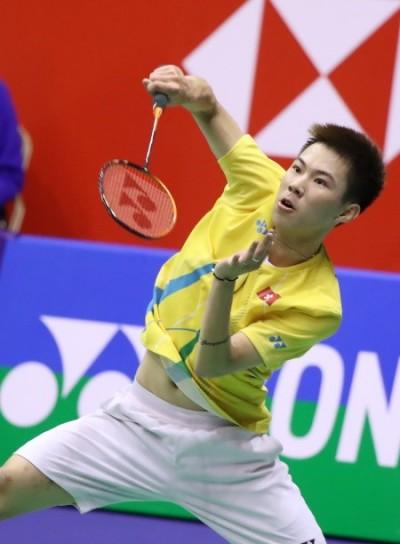 羽球》替香港爭口氣! 李卓耀力退金廷主場首度封王