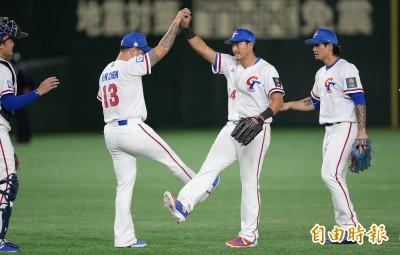 棒球》6搶1賽程公布 台灣隊5連戰、最後一天碰中國