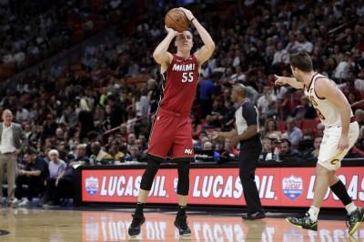 NBA》3分彈如雨下! D.羅賓森轟破熱火隊史紀錄