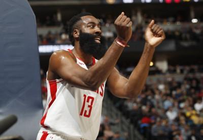 NBA》「哈魏連線」合砍52分也無用! 火箭得分新低中斷8連勝