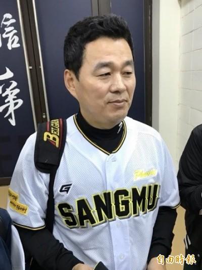 棒球》韓職聯隊總教練朴治王 盼台韓一起打奧運