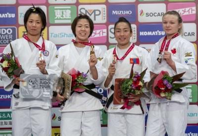 柔道》連珍羚奪大阪大滿貫賽銀牌 進軍東京奧運再添保險