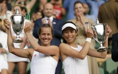網球》謝淑薇再獲WTA獎項提名 入圍本季最佳女雙組合