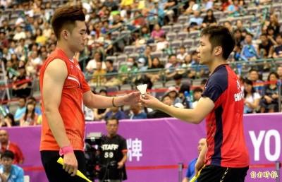 光州賽》「麟洋配」第2局逆轉秀 台灣內戰勝出晉男雙4強