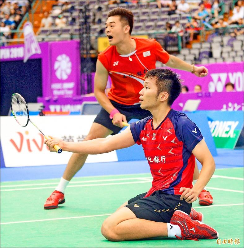 南韓光州羽球大師賽》4組雙打晉4強 林俊易遭逆轉