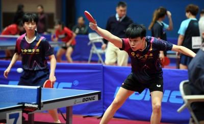 桌球》16歲小將馮翊新混雙奪冠 26年來最年輕的全國冠軍