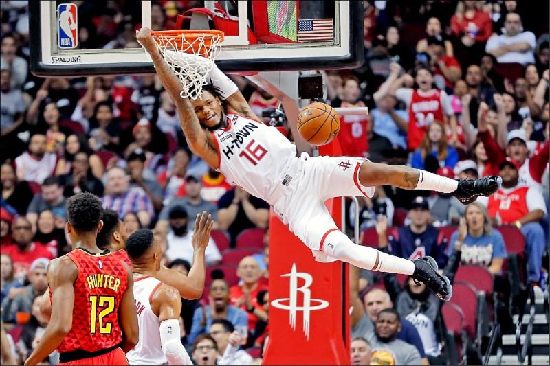 NBA綠葉神射手發威》火箭麥雷莫 實力不輸哈登、魏少雙巨頭