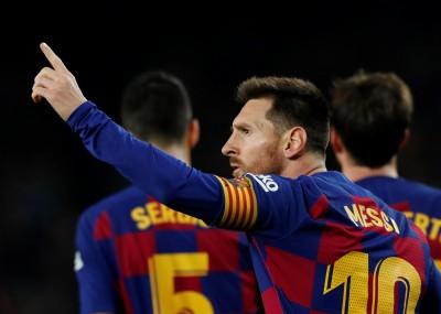 足球》梅西第35次完成帽子戲法 又一項紀錄超越C羅(影音)