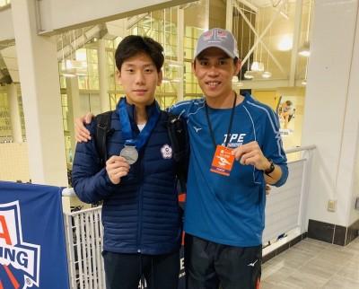 游泳》美國公開賽200蝶摘銀 王冠閎為台灣第一人