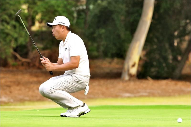 澳洲高球公開賽》俞俊安回神抓5鳥 並列第5收工
