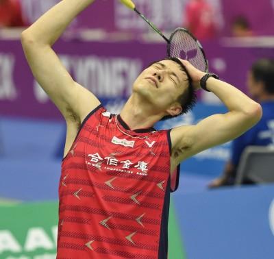 羽球年終賽》王子維直落二不敵球王 無緣生涯對戰首勝