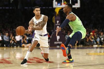 NBA》湖人壞消息! 庫茲馬腳踝傷勢缺戰