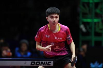 桌球年終賽》直落四擊落世錦賽亞軍 林昀儒昂首進8強