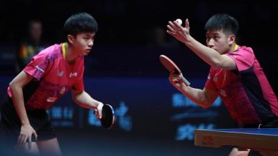 桌球年終賽》驚險化解賽末點 林昀儒/廖振珽闖進冠軍戰