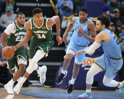 NBA》字母哥復出率公鹿17連勝 追平湖人並列聯盟最佳(影音)