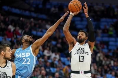 NBA》P.喬治、雷納德同場轟破40分 快艇擒狼迎四連勝(影音)